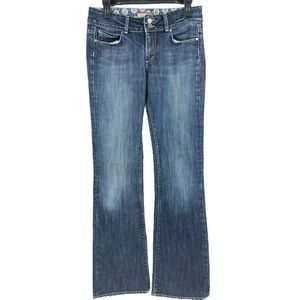 PAIGE High Rise Bootcut Denim Jeans Size 28